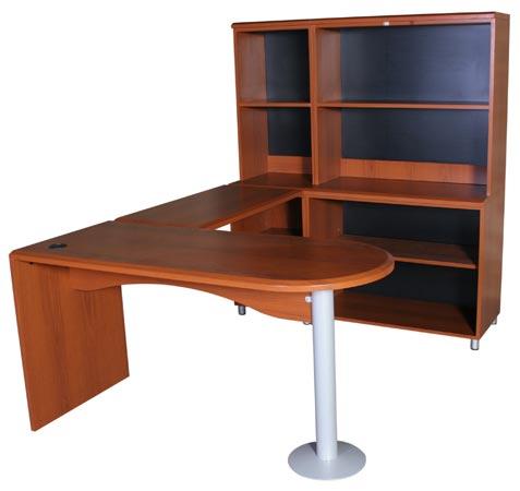 Modulo ejecutivo mmpo muebles modernos para oficina for Bibliotecas muebles modernos